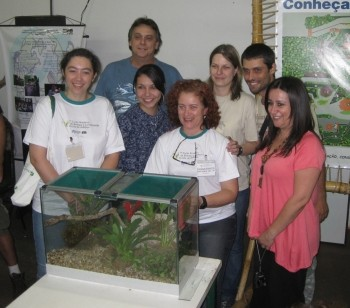 Some of the students at the Brazilian husbandry workshop