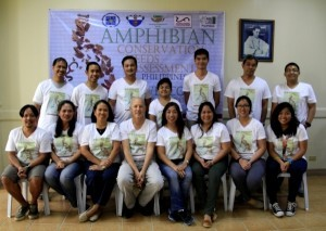Philippine assessment workshop participants