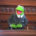 Kermit the Frog's speech on Capitol Hill