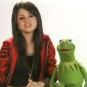 Selena Gomez and Kermit help amphibians