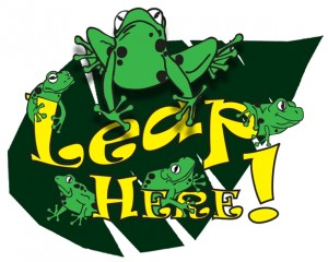 Leap Here logo - Singapore Zoo