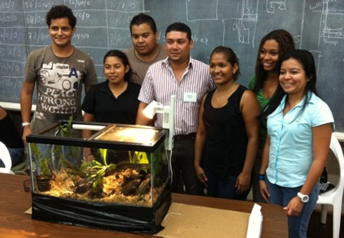 Panama husbandry course 2013