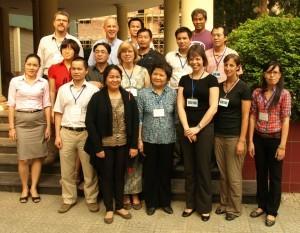 Workshop participants in Hanoi, Vietnam
